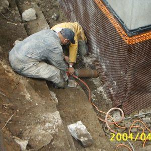 Bed Rock Coring - Foundation Repair
