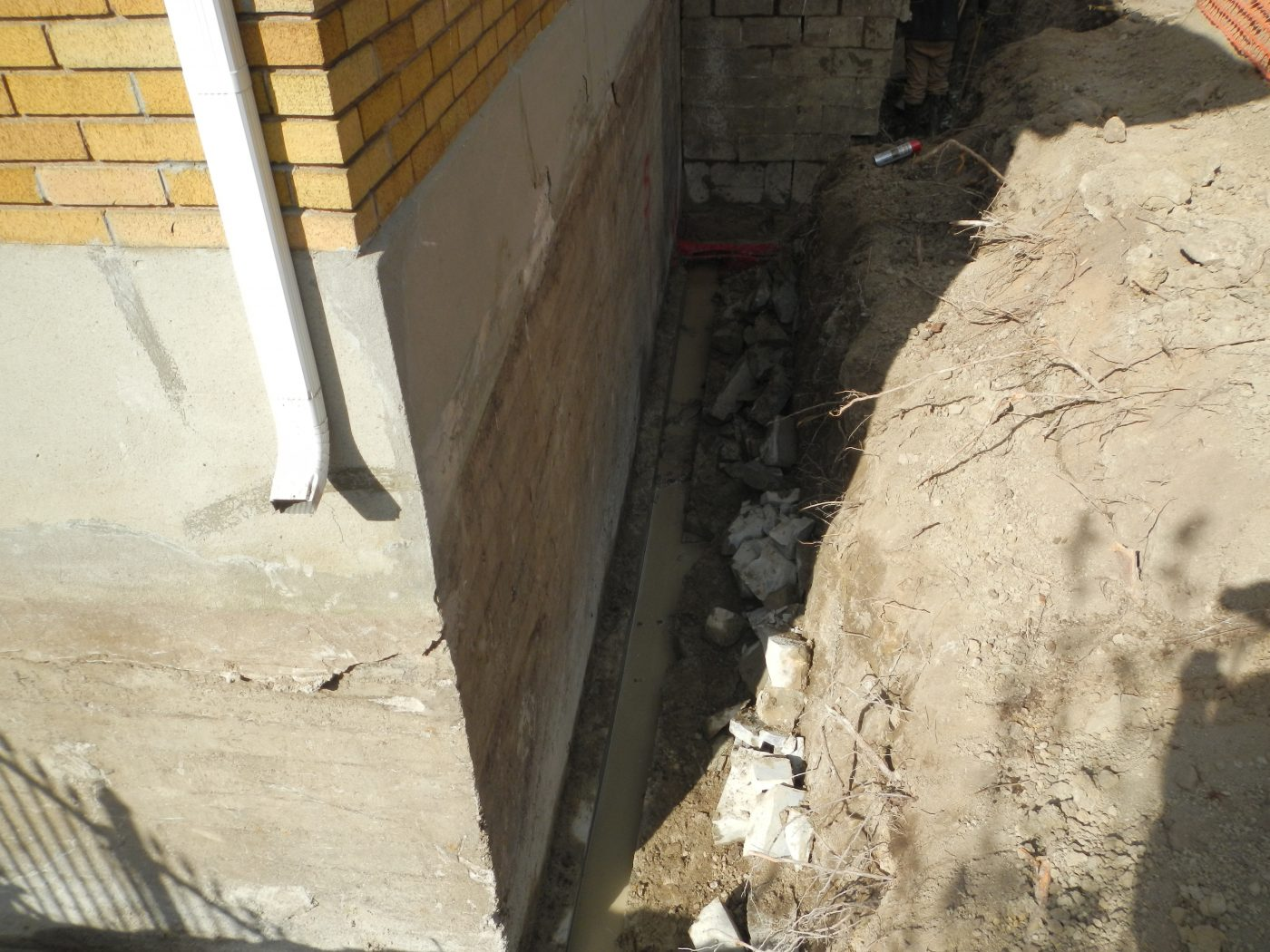 Bedrock Cutting - Foundation Repair