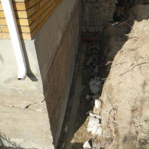 Bedrock Cutting - Foundation Repair