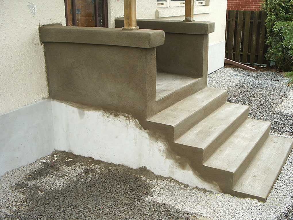 Custom Masonry Step Re-Surfacing