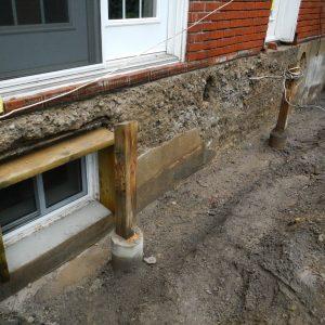 Foundation Parging Steel Lathe