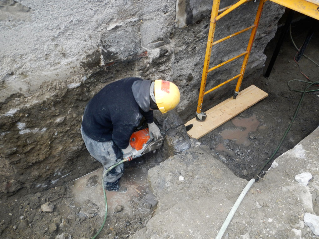 Foundation Removal