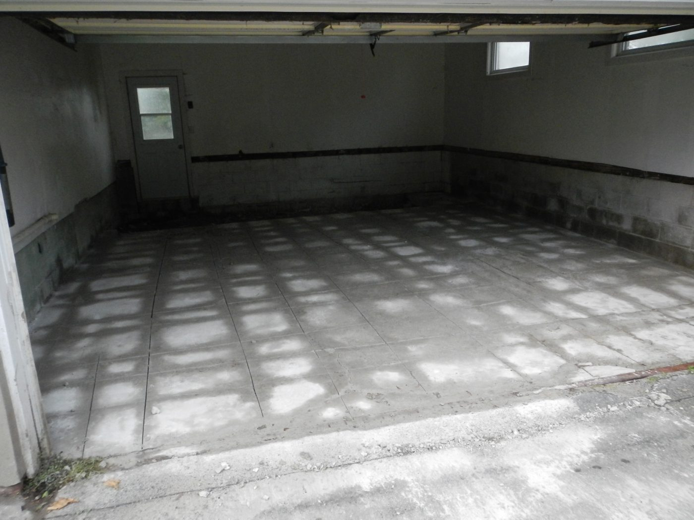 Garage Floor Removal