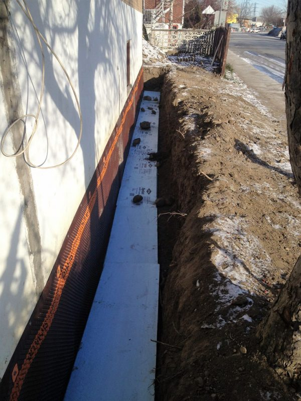 Foundation Footings Repair