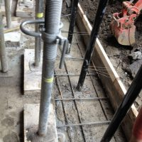 New Foundation Footings