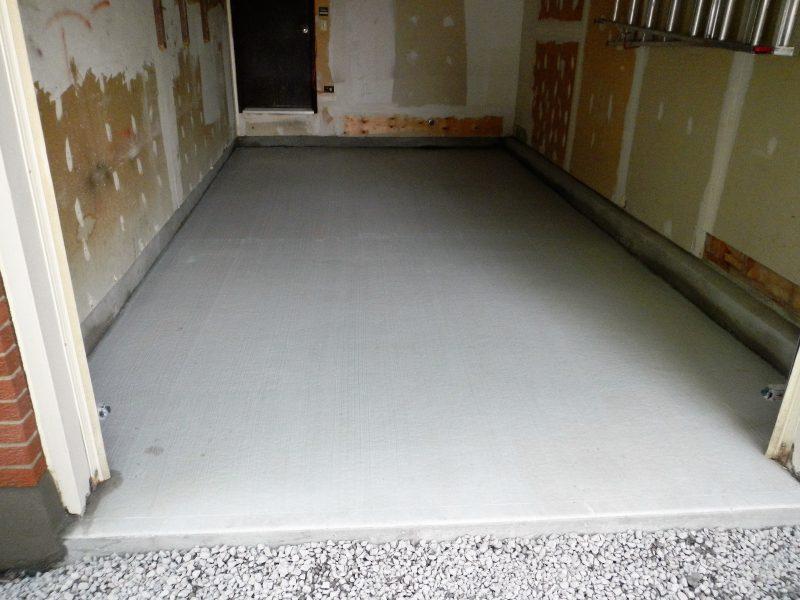 New Garage Floor