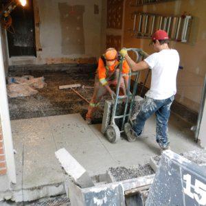 Garage Floor Removal