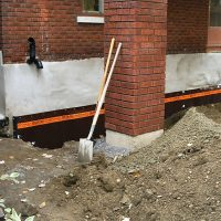 Column Replacement and Waterproofing