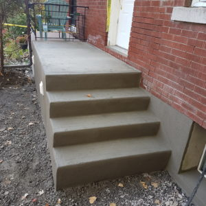 Concrete Step Re-Surfacing 2