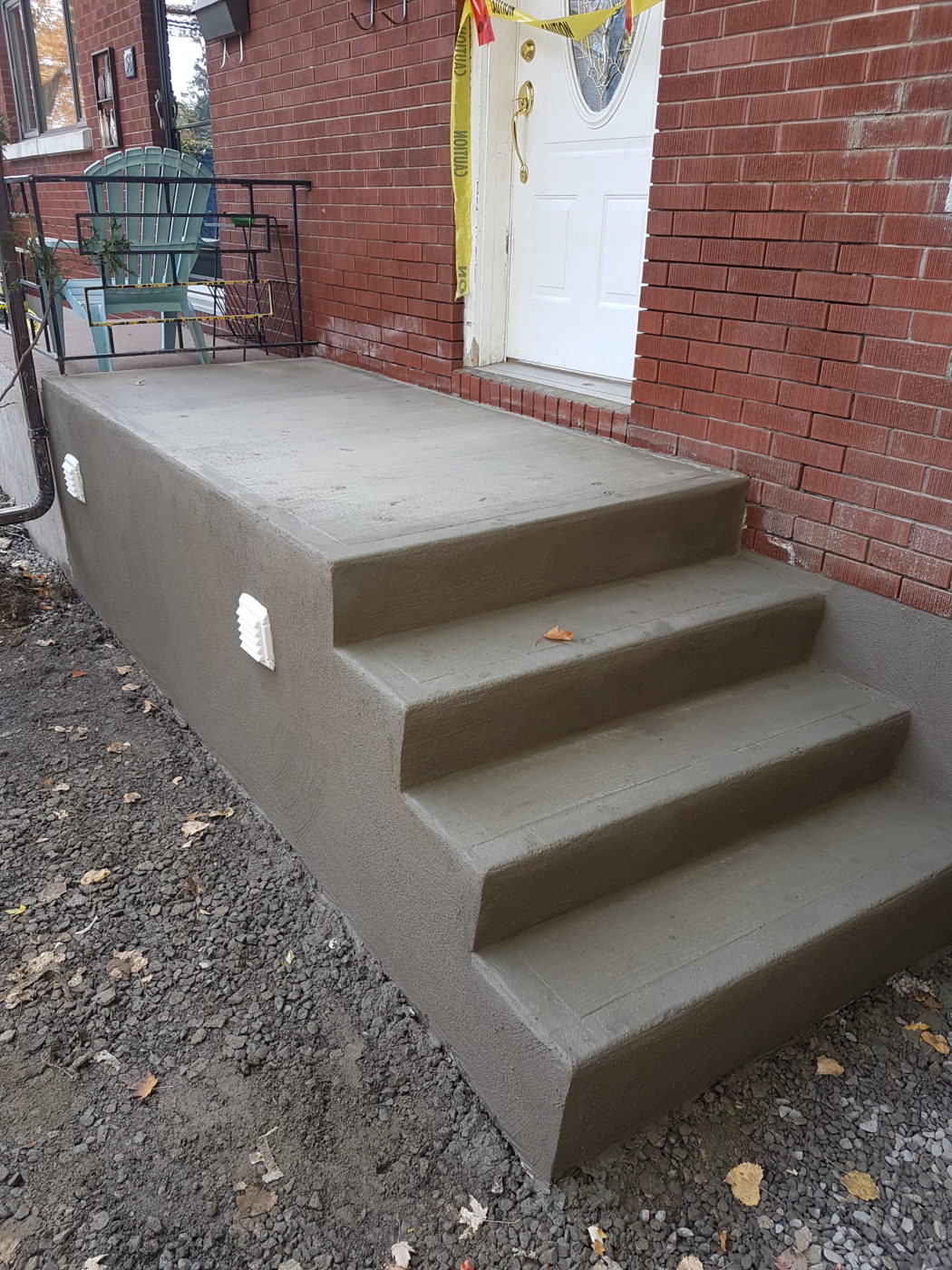 Concrete Step Re-Surfacing