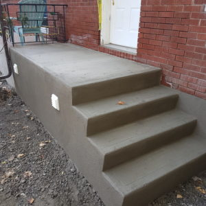 Concrete Step Re-Surfacing 3