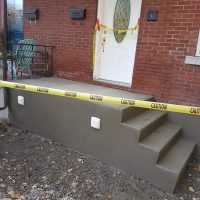 Concrete Step Re-Surfacing