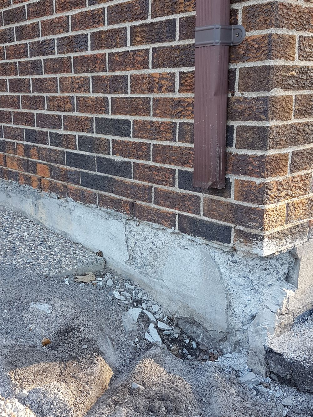 Foundation that needs repairing